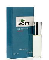 Масляный мини-парфюм с феромонами Lacoste Essential Sport Pour Homme (Лакост Эссеншиал Спорт Пур Хом), 7 мл