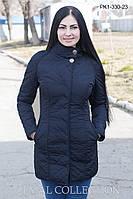 Стильная женская куртка демисезонная ПК1-330 (р.44-54), фото 1