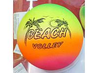Мяч 6 волейбол BT-PB-0043 цветной 60г сетка см (m+)