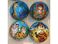 Мяч 9 BT-PB-0045 мультики 4в.80г сетка см (m+)