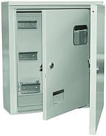 Щит для счетчика 1-3ф. ЩУ 3/1-1-74 У1 IP54 металлический IEK