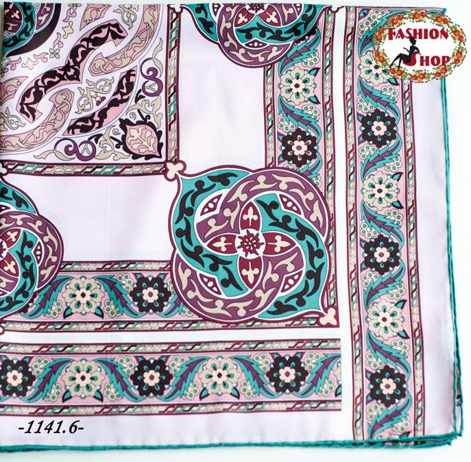 Брендовый шёлковый платок HERMES (реплика)