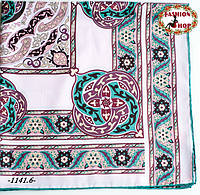 Брендовый шёлковый платок  HERMES