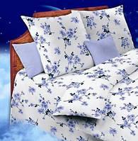 Полуторное постельное белье - Сакура фиолетовая - 2G-307