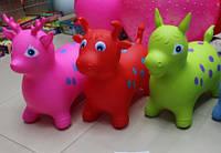 Прыгун звери BT-RJ-0029 1350г 3в.(корова, олень, лошадь) микс цветов см (m+)