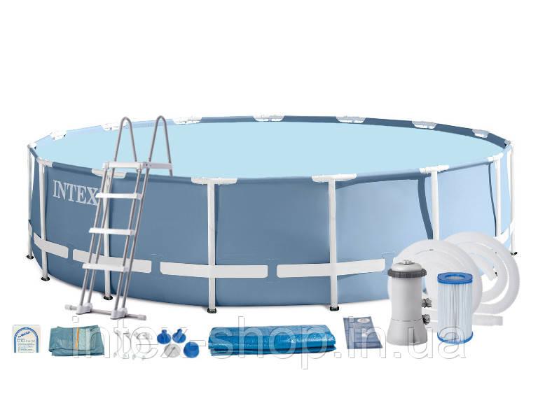 Каркасный бассейн 457х122 см Intex 28736/28236