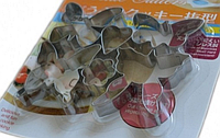 """""""Бабочки"""" набор металлических вырубок из 6 ти"""