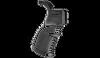 Пистолетная рукоятка FAB для M16\M4\AR15, обрезиненная, черная