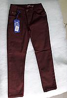 Котоновые детские брюки для мальчика 128, синий