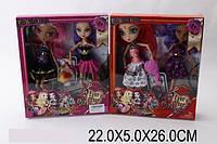 Кукла Ever After High с аксессуарами 2 шт, 2 вида в коробке 22х5х26