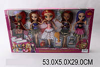 Кукла Ever After High с аксессуарами 5 шт, в коробке 53х5х29