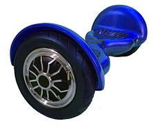 """Гироборд Erover BD-S010 синий, подсветка и колонки, колеса 10"""", мотор 1000W, 130кг, 16 км/ч, Bluetooth, сумка"""