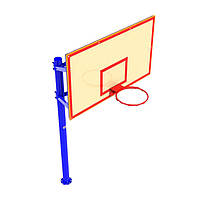 Стенд баскетбольный FIBA (180х105), щит фанера влагостойкая УТ410