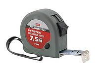 Рулетка Fine, 7,5 м х 25 мм, пластиковый корпус MATRIX