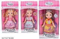 Кукла 32см XD10-2 5 принцесса 3в в коробке 18*9*35