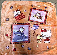 Детский флисовый плед Hello Kitty