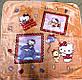 """Детский плед 110*100 из флиса """"Hello Kitty"""" , фото 2"""