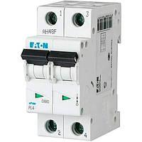 Автоматический выключатель PL4-C10/2 2п. 10А EATON, фото 1