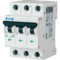 Автоматический выключатель PL4 3p 6А/C EATON, фото 1