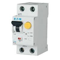 Дифференциальный автомат PFL6-16/1N/C/003 2п. 16А 30мА EATON