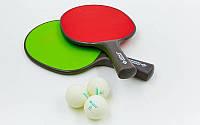 Набор для пинг-понга 2 ракетки, 3 шарика Donic