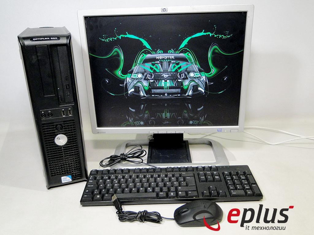 ПК DELL Optiplex 380 (DT) + HP LP2065 S-IPS бу