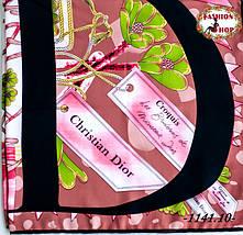 Брендовый шёлковый платок DIOR (реплика), фото 3