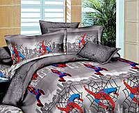 Детское полуторное постельное Новый человек паук (Ранфорса)
