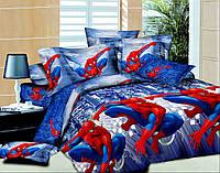Детское полуторное постельное Новый человек паук 2