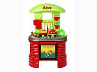 Стол-Детская игрушечная кухня Ева (сковорода+чайник+, ) в коробке /2