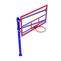Стенд баскетбольный FIBA (180х105), щит акриловый УТ410.1