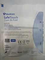 Перчатки латексные стерильные хирургические текстурированые / размер 8,5  / Safe-Touch