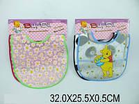 Слюнявчики, 2 шт, 2 вида 32х25х0,5 6