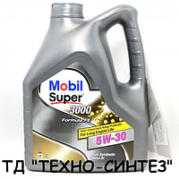 Моторное масло MOBIL SUPER 3000 X1 FORMULA FE 5W-30 (4л)