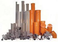 Труба ПВХ для  наружной и внутренней канализации