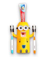 Minions держатель зубных щеток с автоматическим дозатором для зубной пасты