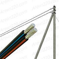 Провод для воздушных линий СИП4 2х16, Черный