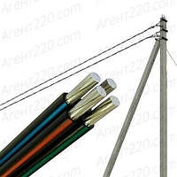 Провод для воздушных линий СИП4 4х25, Черный