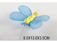 Заводная бабочка 8х13х3