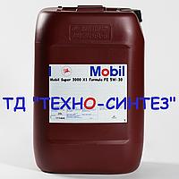 Моторное масло MOBIL SUPER 3000 X1 FORMULA FE 5W-30 (20л)