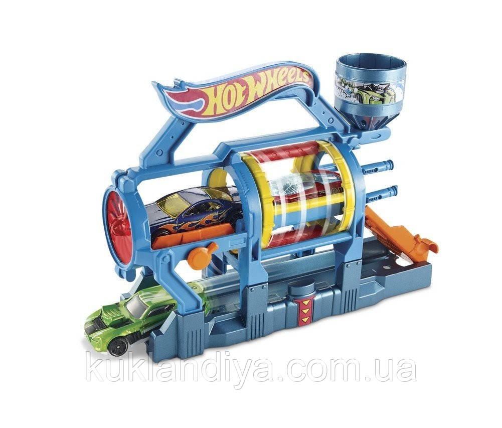 Игровой набор Hot Wheels Турбо автомойка