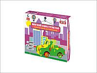 Конструктор мягкий Автомобиль-внедорожник в коробке 25, 5-19, 5*3 см. (m+)