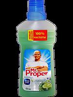 Моющая жидкость для полов и стен MR PROPER Бодрящий лайм и мята 500 мл