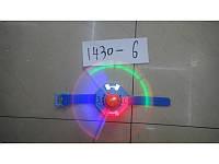 Часы с мельницей, 1 режим, светится крылья, музыкальная (360 ящ) (m+)