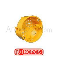 Коробка монтажная под гипсокартон KOPOS KU68/71 L1, желтый
