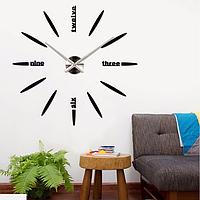 Настенные часы (Пуля) наклейки зеркальные, фото 1