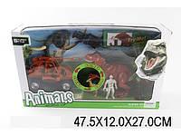 Динозавры, игровой набор с аксесс, светится звук в коробке 47х12х27