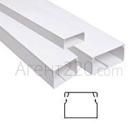 Кабельный канал пластиковый 100х60, Белый