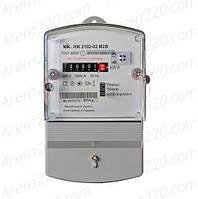 Счетчик электроэнергии НІК 2102-02 М2В, однофазний 5(60)А, 5А