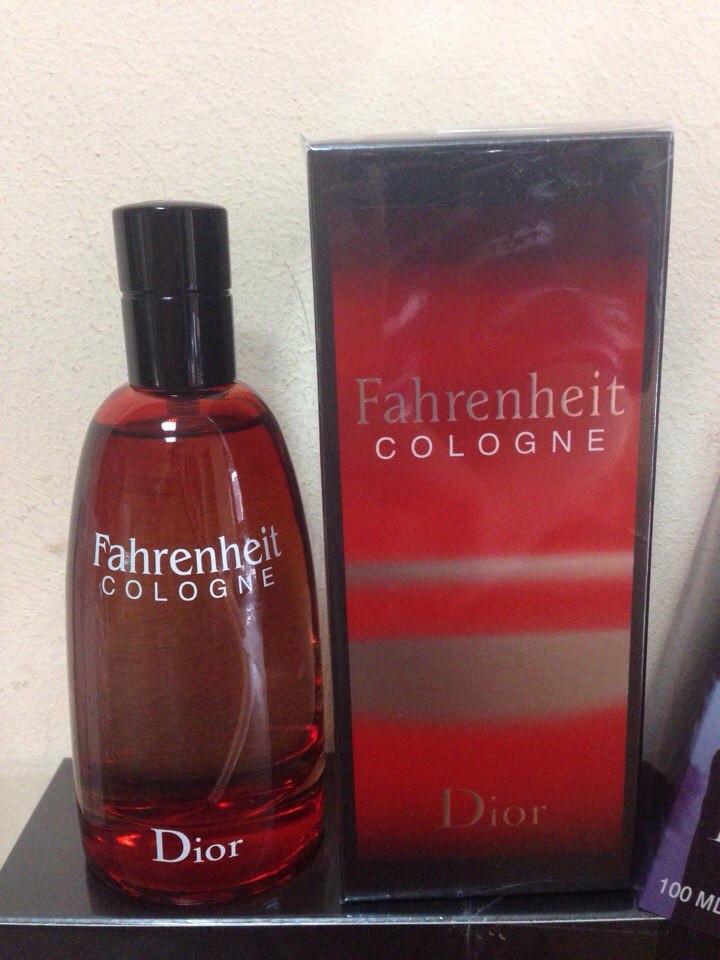 Мужская туалетная вода Christian Dior Fahrenheit Cologne (Кристиан Диор Фарэнгейт Колонь) 100 мл
